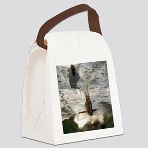 rbrussell framed panel print Canvas Lunch Bag