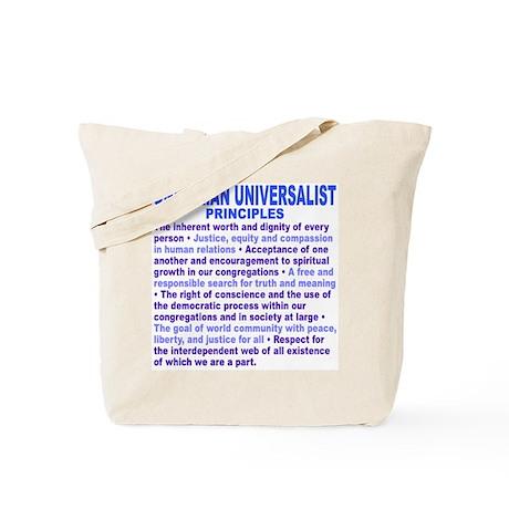 UU PRINCIPLES Tote Bag
