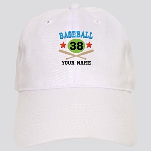 Personalized Hockey Player Number Cap