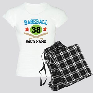 Personalized Hockey Player Number Women's Light Pa