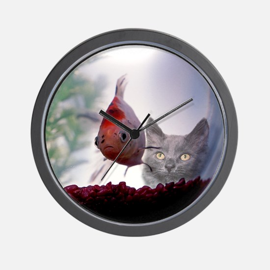 Fishy Wishes Wall Clock