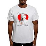 Love My Westie Light T-Shirt