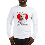 Love My Westie Long Sleeve T-Shirt