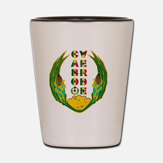 Cabo Verde Emblem Shot Glass