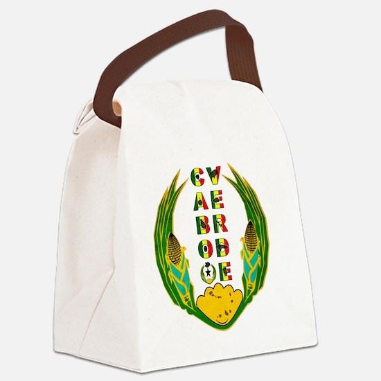 Cabo Verde Emblem Canvas Lunch Bag