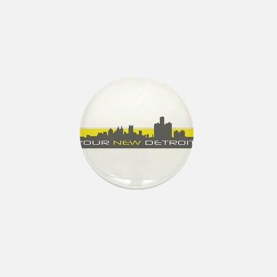 Unique New your city Mini Button