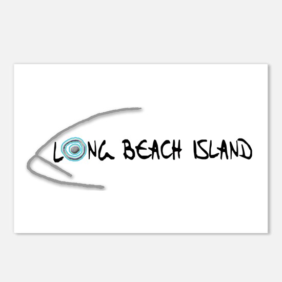 LBI Fish... Postcards (Package of 8)