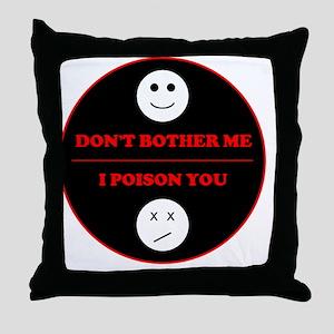 t-1smile Throw Pillow