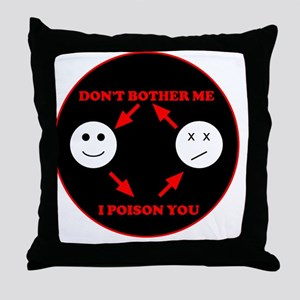 t-2smile Throw Pillow