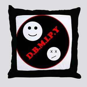 t-4smile Throw Pillow