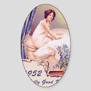 girlbirthday79 Sticker (Oval)