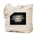 Defund Obamacare Now Tote Bag