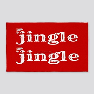 Santa Jingle 3'X5' Area Rug