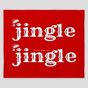 Santa Jingle King Duvet