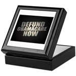 Defund Obamacare Now Keepsake Box