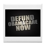Defund Obamacare Now Tile Coaster