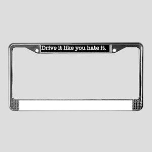 driveitb License Plate Frame