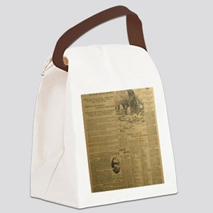 titanic-Vancouver BIG Canvas Lunch Bag