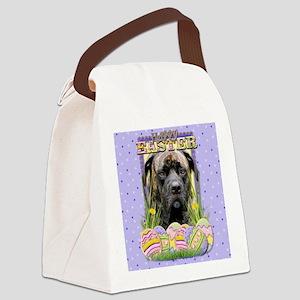 EasterEggCookiesMastiffCycloneCP Canvas Lunch Bag