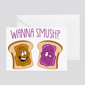 WannaSmush Greeting Card