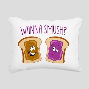 WannaSmush Rectangular Canvas Pillow