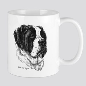 Happiness is a Saint Bernard Mug
