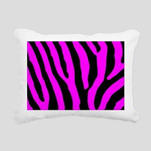 laptopskinpinkzebra Rectangular Canvas Pillow