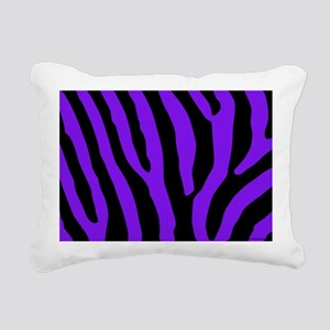 laptopskinpurpzebra Rectangular Canvas Pillow