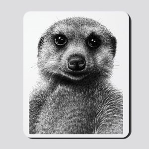 Meerkat (Oval keepsake) Mousepad