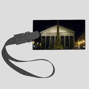 pantheon by night Large Luggage Tag