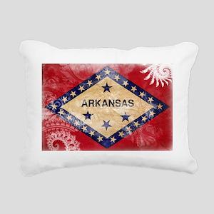 Arkansas textured Crazeh Rectangular Canvas Pillow