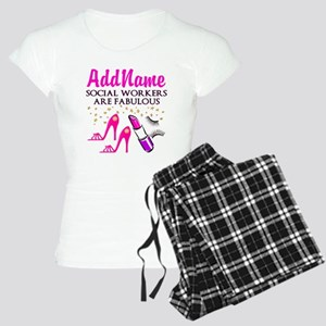#1 SOCIAL WORKER Women's Light Pajamas