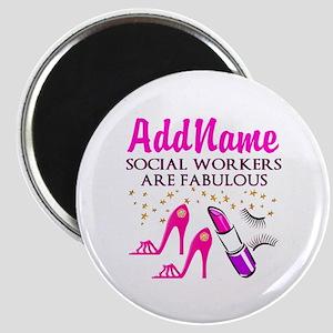 #1 SOCIAL WORKER Magnet