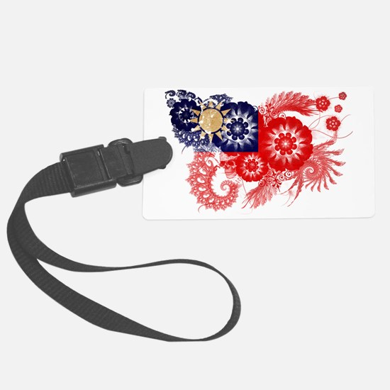 Taiwan textured flower Luggage Tag