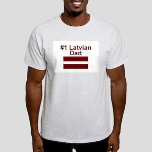 #1 Latvian Dad Light T-Shirt