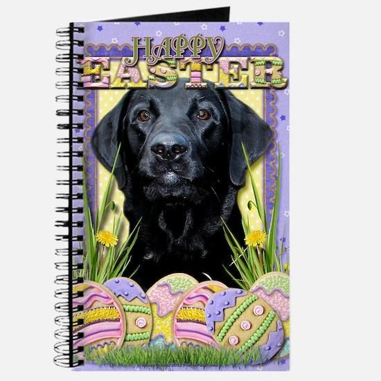 EasterEggCookiesLabradorBlk Journal