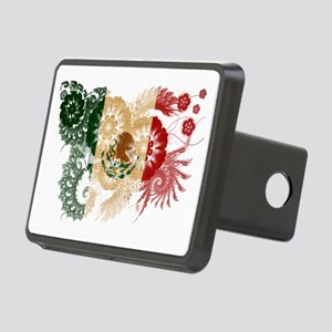 Mexico textured flower Rectangular Hitch Cover