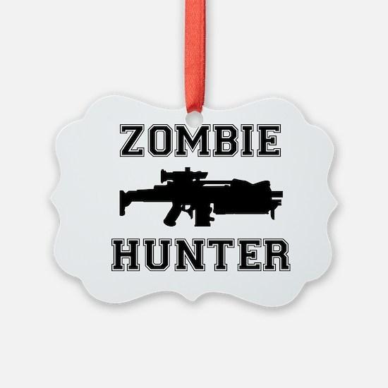 Zombie Hunter Ornament