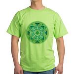 Green T-Shirt Mercury Yantra