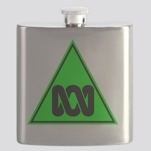 ITS THEIR ABC (black, no text) Flask