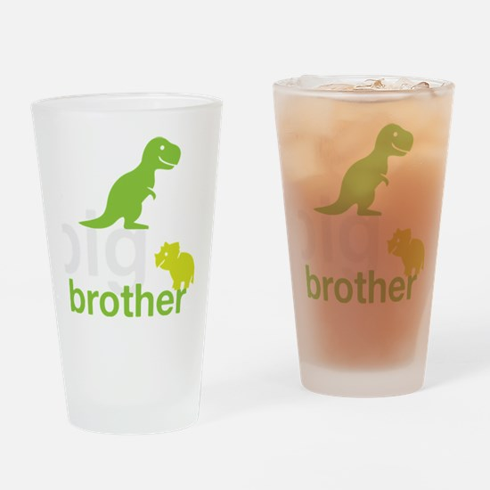 big brother wh Drinking Glass