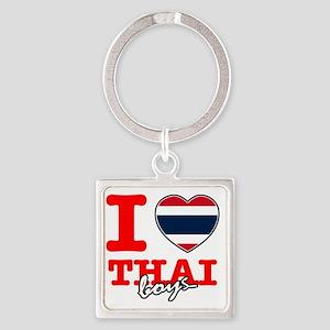 thai Square Keychain