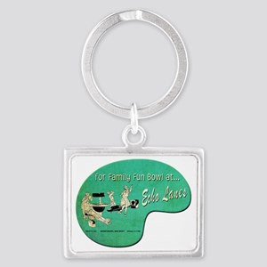 Echo Lanes_Cafe Landscape Keychain