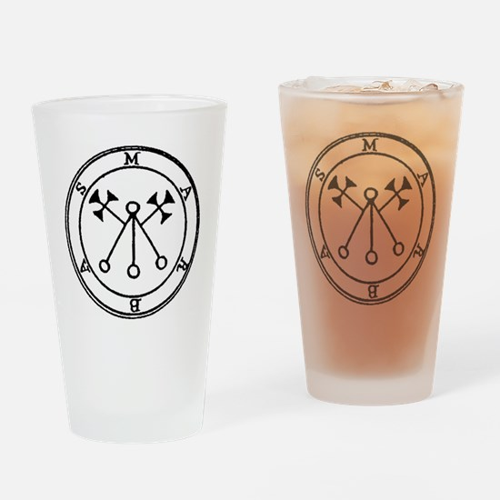 Marbas Drinking Glass