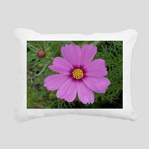 flower-horz-14 Rectangular Canvas Pillow