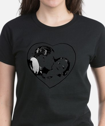 love_b+w Women's Dark T-Shirt