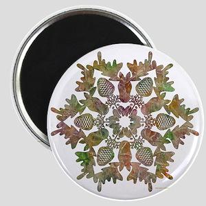 moose snowflake Magnet