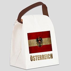 austria6Bk Canvas Lunch Bag