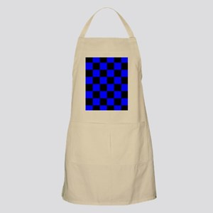 ipad2coverbluecheckerboardpng Apron