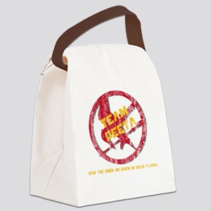 Team Peeta Forever Canvas Lunch Bag